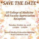 RSVP for the 2018 COM Fall Faculty Appreciation Reception